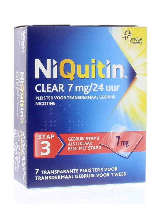 Niquitin Step 3 7 mg patches 7 pcs