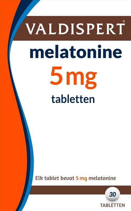 Valdispert Melatonine 5mg UAD 30 tabletten