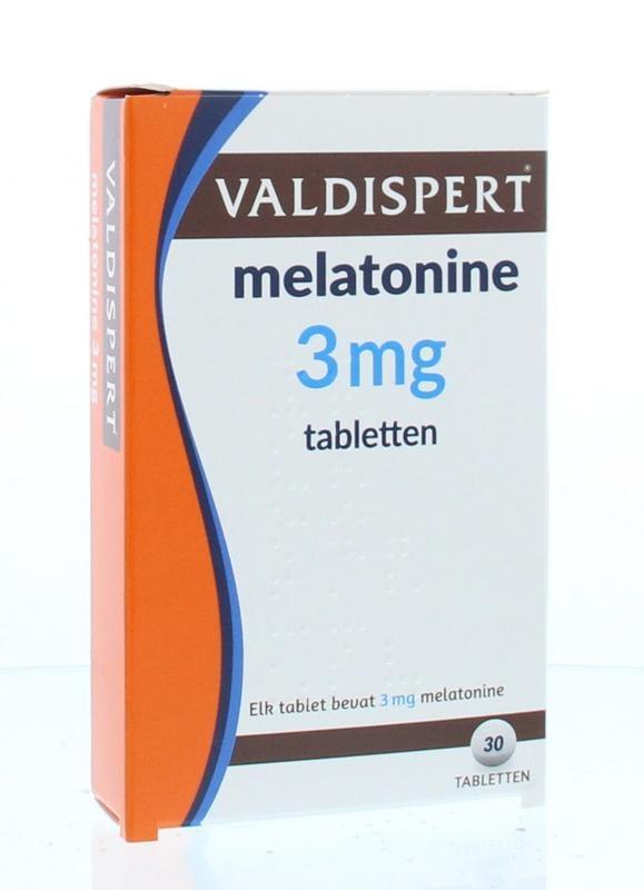 Valdispert Melatonine 3mg UAD 30 tabletten