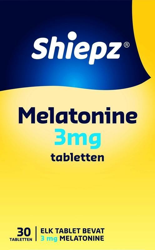 Shiepz Melatonine 3 mg