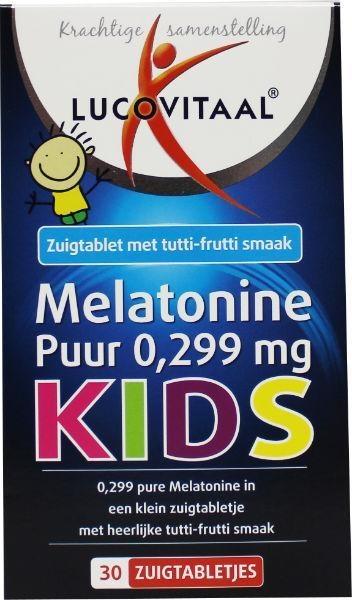 Lucovitaal Melatonin kids pure 0.299 mg