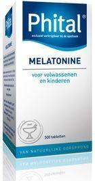 Phital Melatonin 0.1mg 500 Tablets