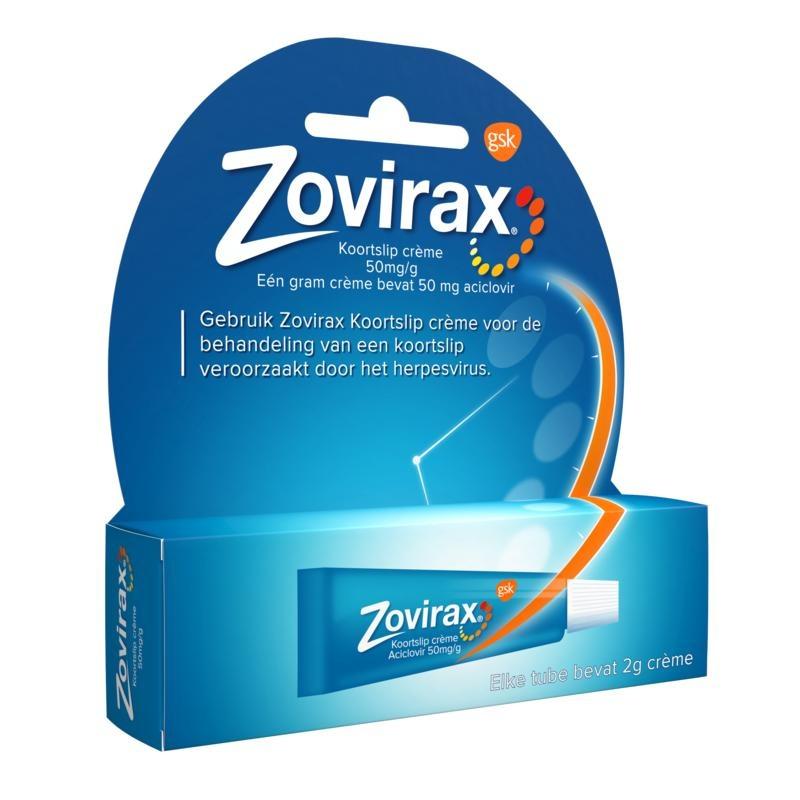 Zovirax tube 2 grams