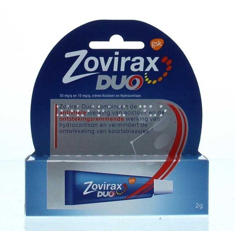 Zovirax Cream duo
