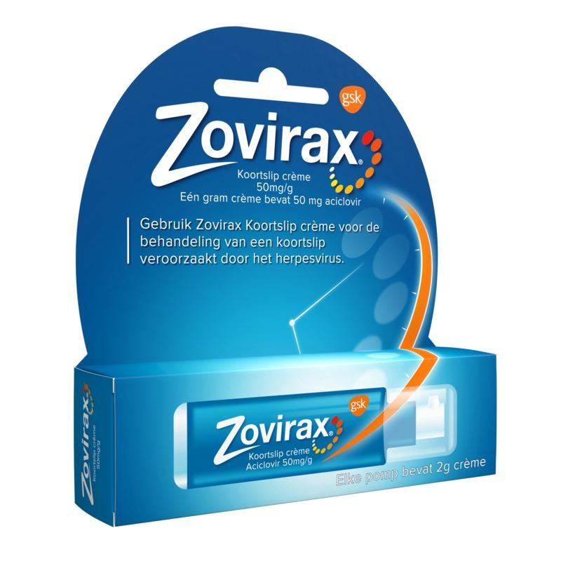 Zovirax Cream 5% pump