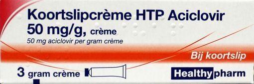 Healthypharm Cold sore cream aciclovir 3 grams