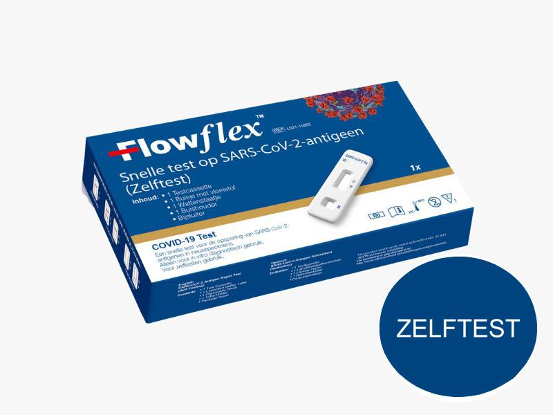 Acon Flowflex  corona zelftest particulier 1 stuk - goedgekeurd door VWS