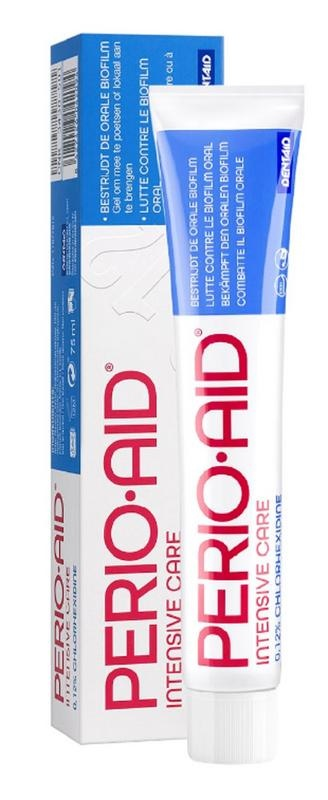 Perio Aid Intensive care toothpaste gel 0.12% CHX
