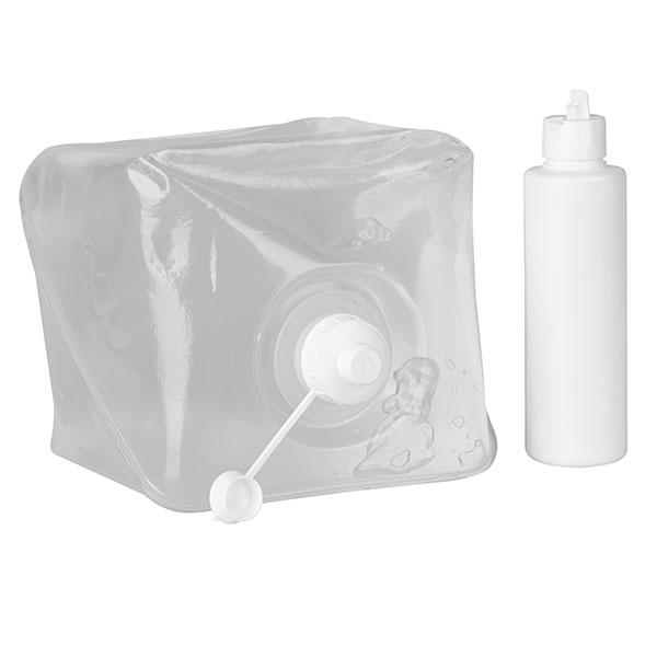 Ultrasound Servoson gel 5 Liter Cubitainer met schroefdop + vulbare flacon