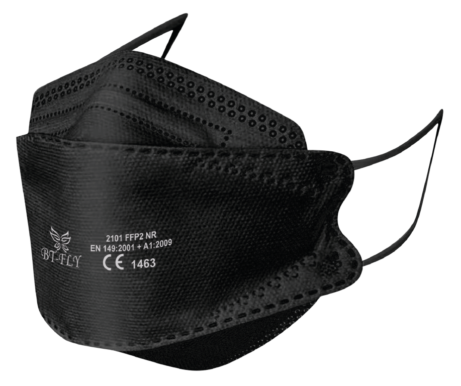 BT-FLY FFP2 Mouthmask Black 25 pieces