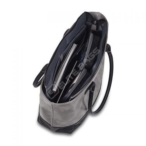 Elite Bags Dokterstas - TOTE - Grijs/Zwart - Outlet