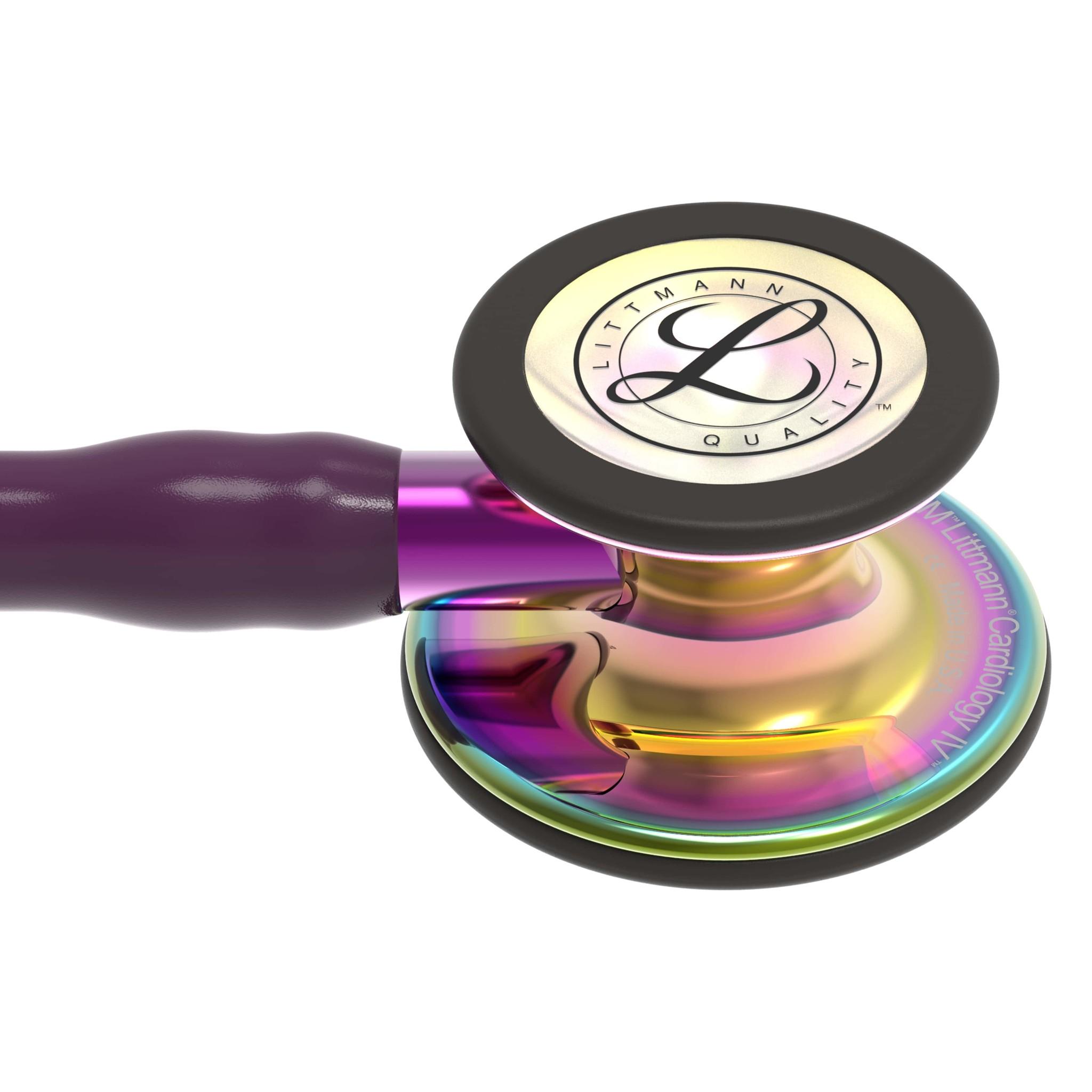 """LITTMANN® """"CARDIOLOGY IV"""" - 6239 - plum- rainbow gloss"""