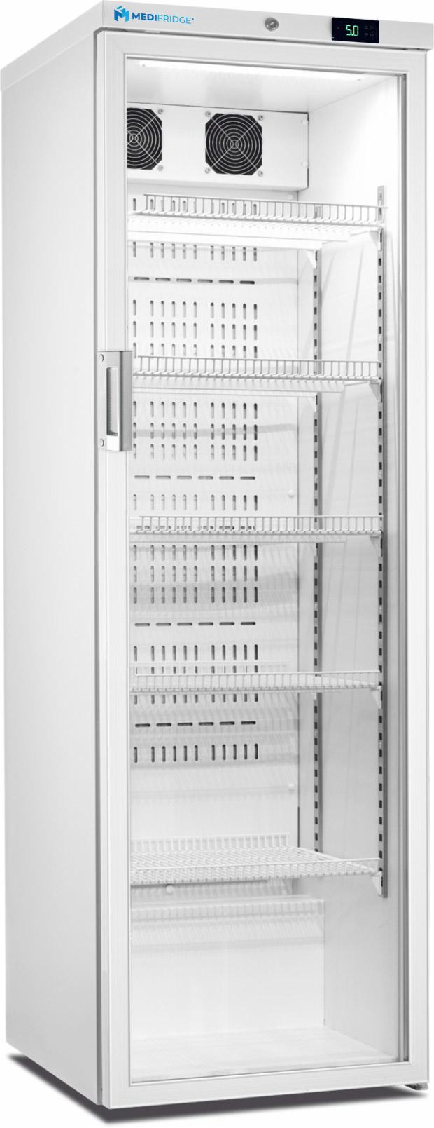 MediFridge Medikamentenkühlschrank MF450L-GD - Glastür - 416 Liter - 600x700x1875 mm - DIN 58345