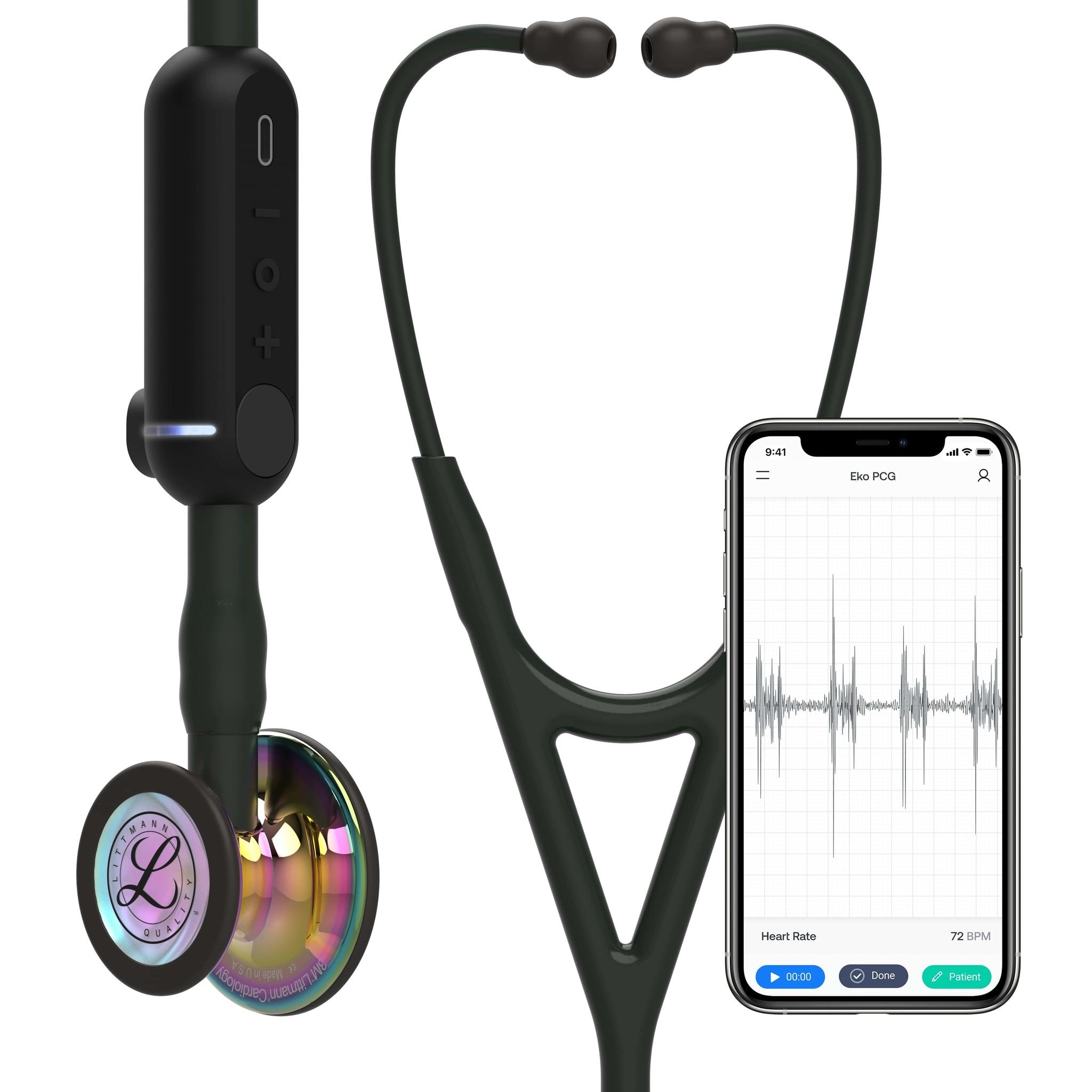 Littmann® CORE Digital Stethoscoop Rainbow