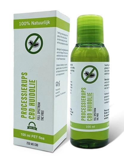 CBD Skin oil processionary caterpillar - 100 ml