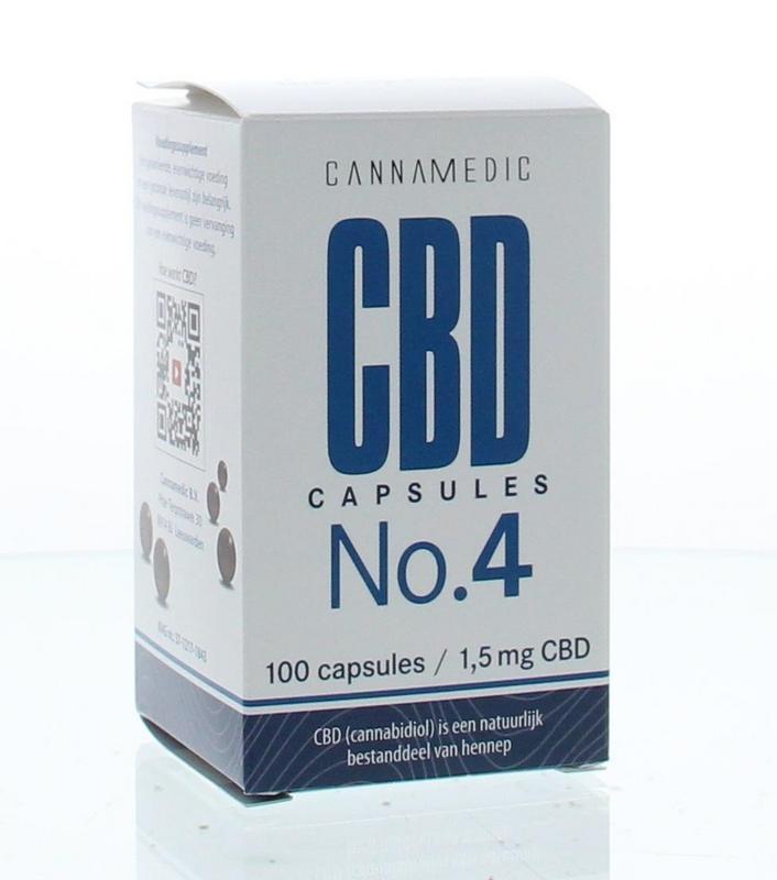 Cannamedic CBD Capsules No. 4 - 1.5 mg 100 capsules