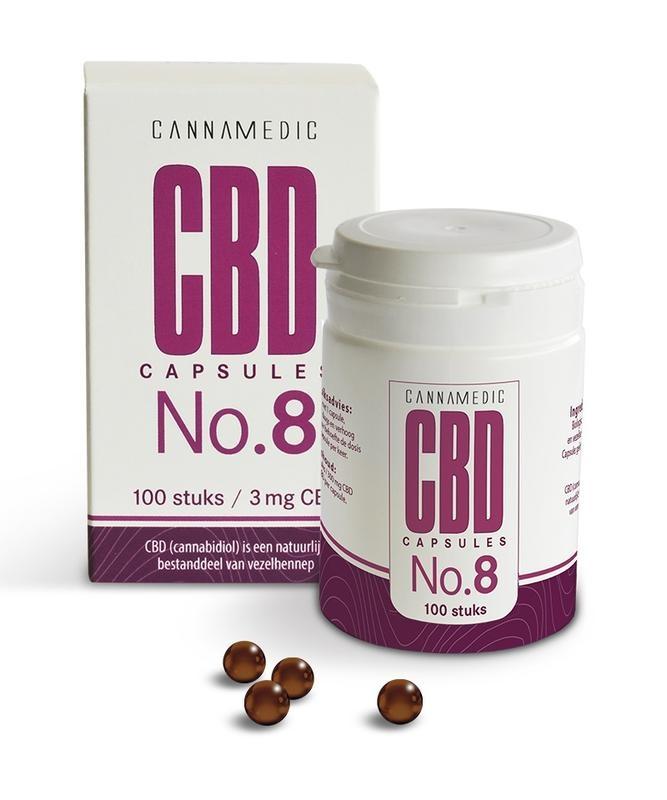 Cannamedic CBD Capsules nr 8 3 mg  50 capsules