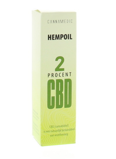 Cannamedic Hemp oil 2% CBD - 10 ml