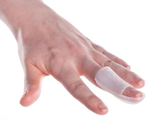 Vingerspalk Stack transparant voor mallet finger hamervinger, baseball finger