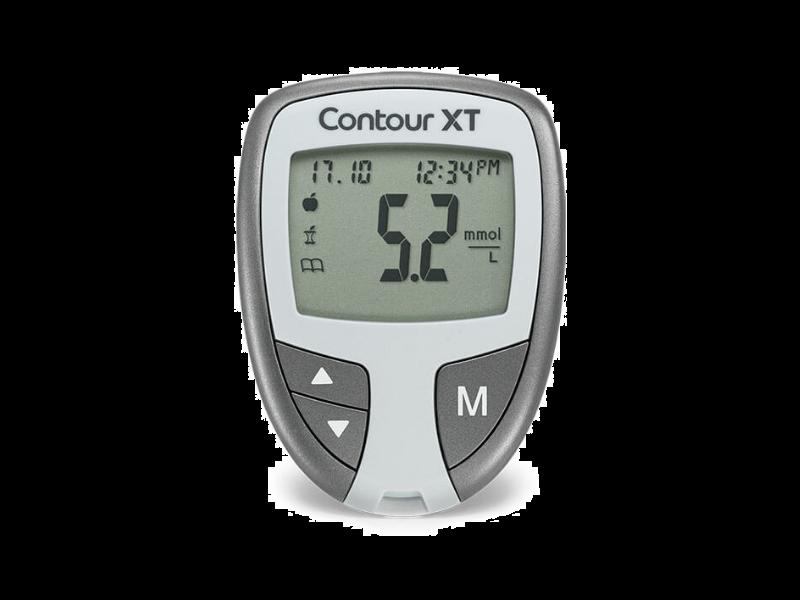 Contour XT glucose meter starter pack