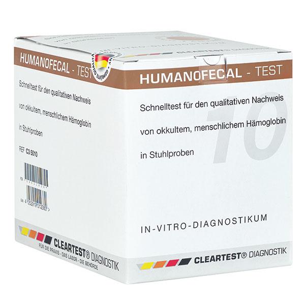 Cleartest Dikkedarmkanker test iFOBT Humanofaecal