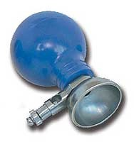 ECG bulb electrode - adult - 24 mm - 6 pieces