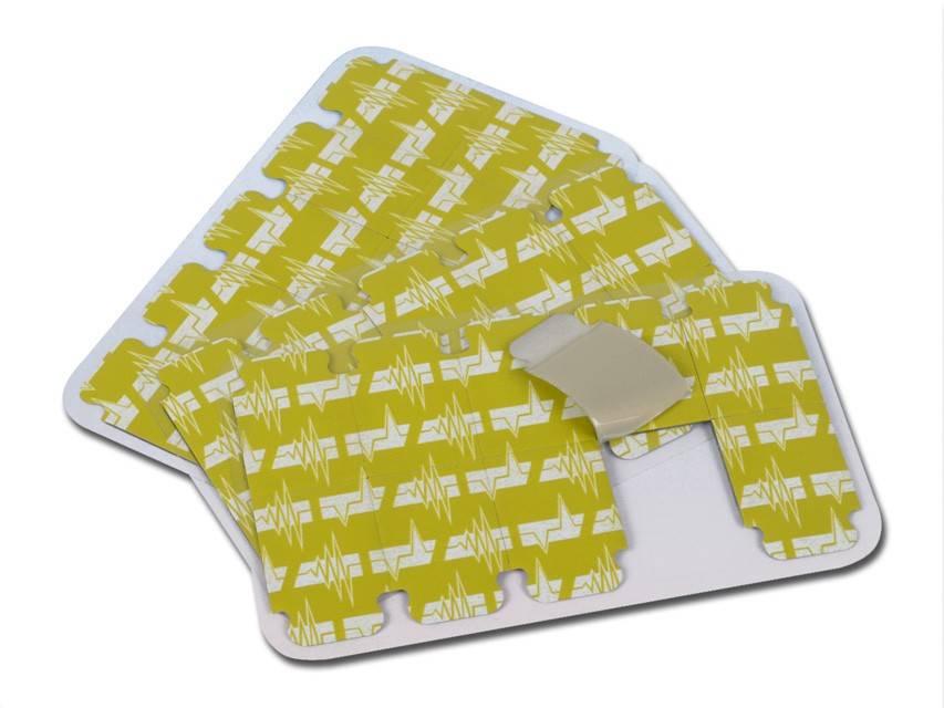 ECG tab electroden 100 stuks (vervanger van Welch Allyn ECG TAB-electroden 50% prijsvoordeel)