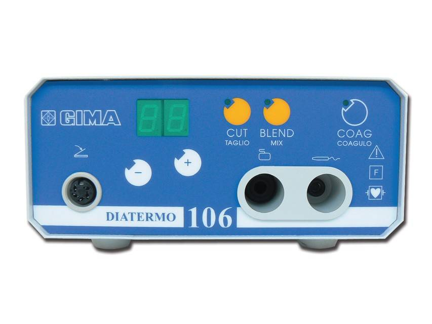 Coagulator Diatermo 106 - 50W - recommended for general practices monopolar
