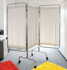 Medische Vakhandel Privacy screen (frame), on wheels