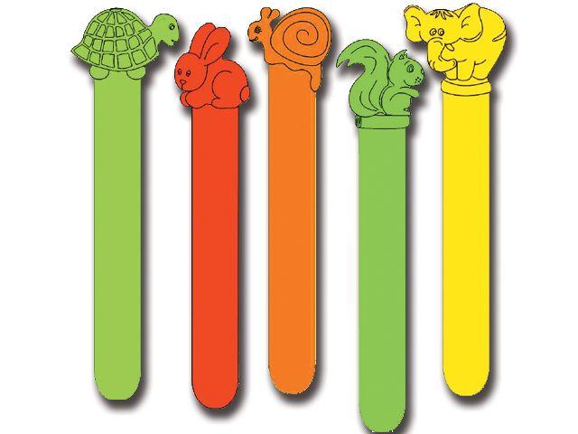 Plastic tongspatels 50 stuks