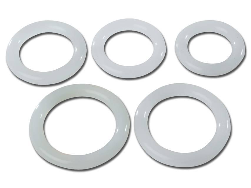 Silikon Ring-Pessar, Ø 65 mm