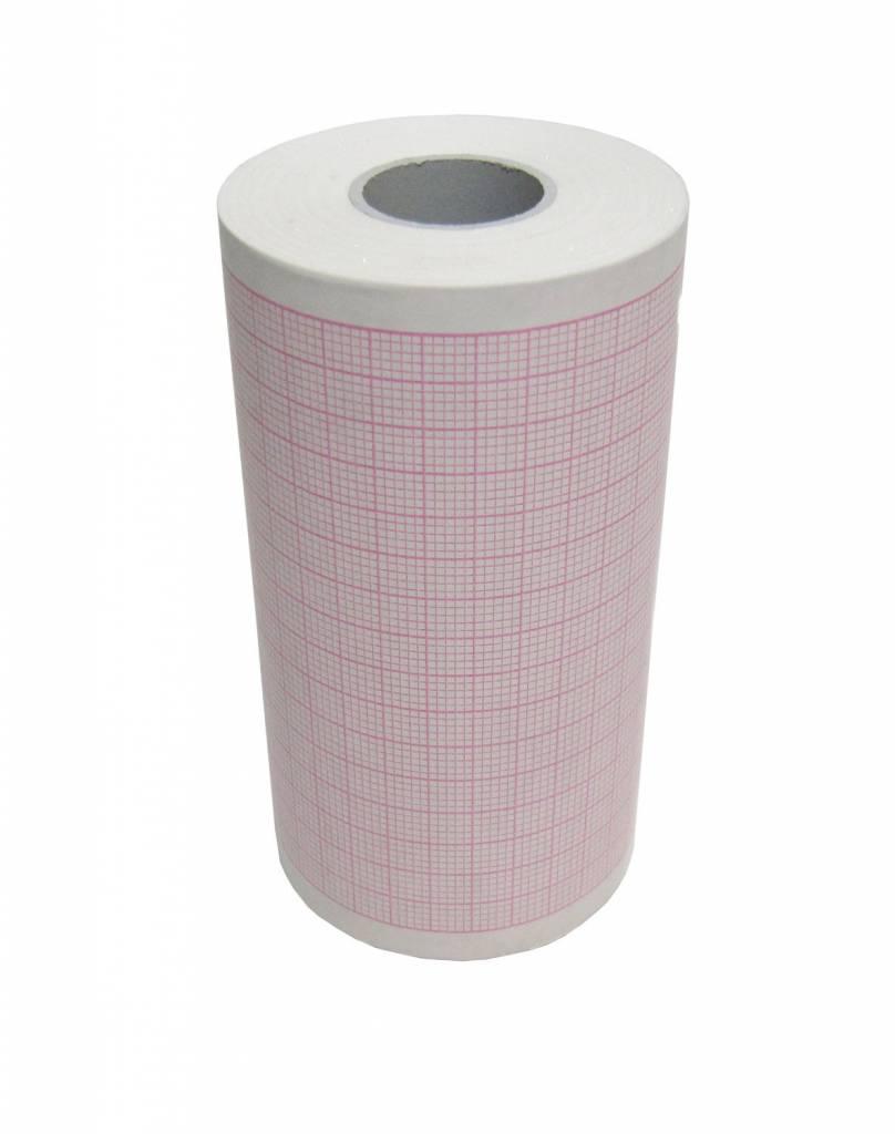 ECG Papier voor cardiogima 12 + 12 M, doos met 5 rollen