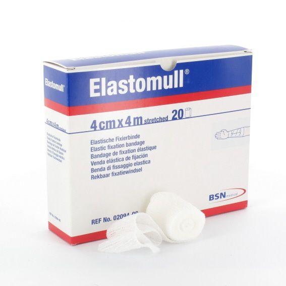 Elastomull Fixierbinde - 4 x 4 cm
