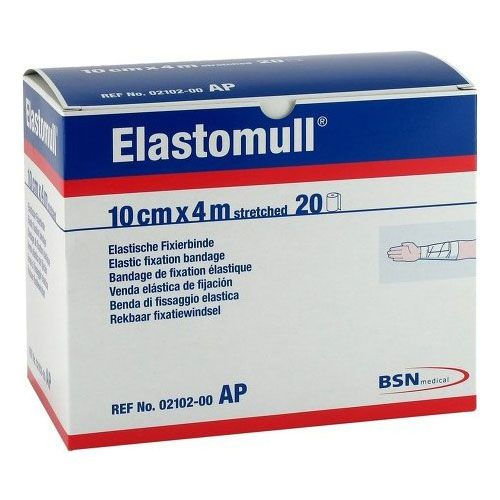 Elastomull Fixierbinde - 4 m x 10 cm, 20 Stück