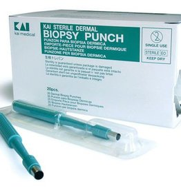 Medische Vakhandel Kai huidstans steriel disposable 3 mm 20 stuks