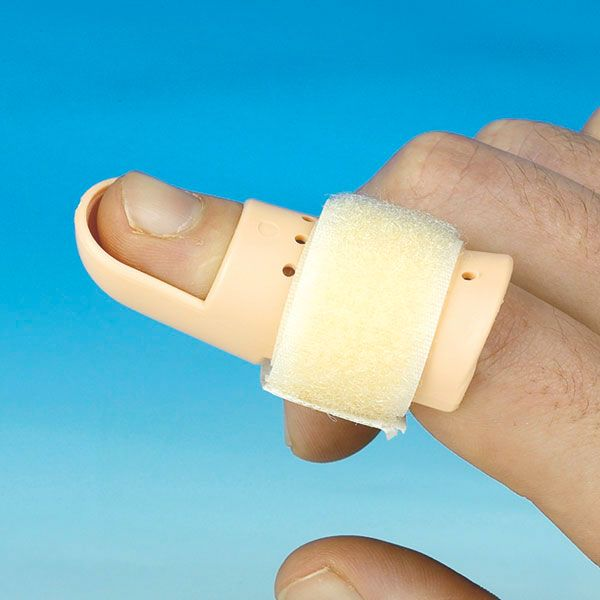 Finger splint Stack NR6 for mallet finger, hammer finger, baseball finger