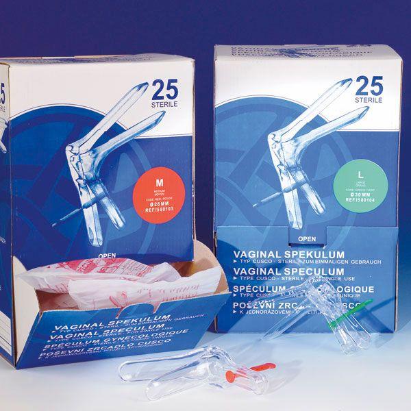 Cusco speculum steriel disposable maagd Ø 20 mm 25 stuks