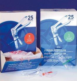 Medische Vakhandel Cusco Sterile Einweg-Spekulum  groß Ø 30 mm, 25 Stück