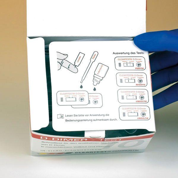 Cleartest® D-Dimer, 5 Tests