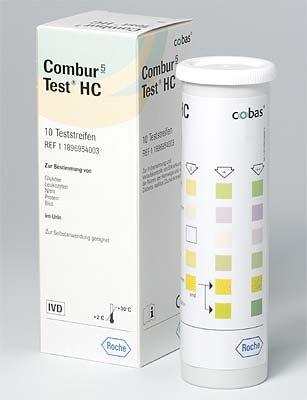 Combur 5-Test HC 10 strips, ideaal voor uw visitetas