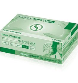 Medische Vakhandel Sempercare® latex - extra small - 100 pieces