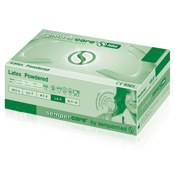 Sempercare® Latex, extra small, 100 Stück