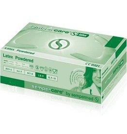 Medische Vakhandel Sempercare® latex - medium - 100 pieces