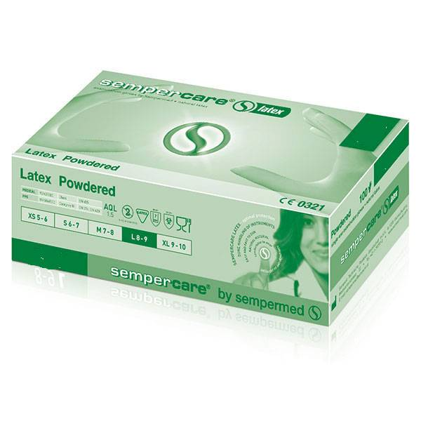Sempercare® latex - extra large - 90 pieces