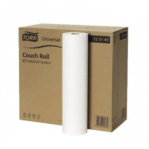 Tork® Mediroll - couch rolls - 1ply - 49 cm x 50 m