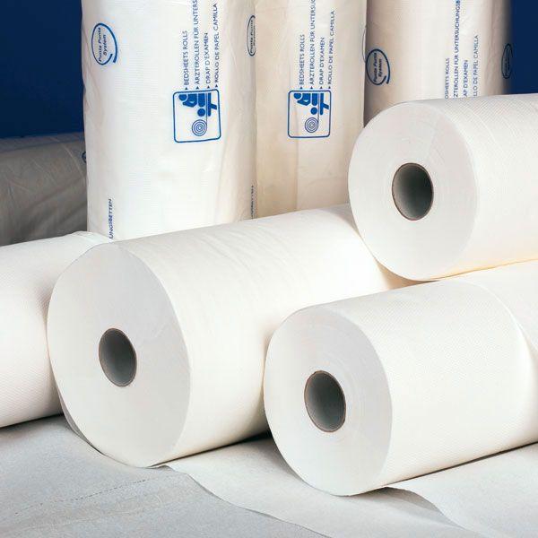 Onderzoekbankpapier 40 cm x 150 mtr Mediware Extra Long - 6 rollen