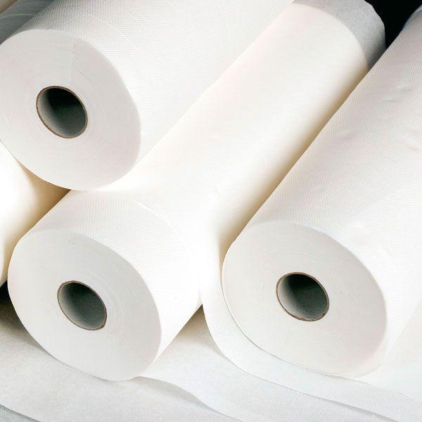 Mediware couch rolls - 2ply - 39/40 cm x 100 m - 6 rolls