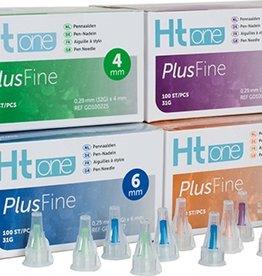 Medische Vakhandel HT One Plusfine pen needles 6 mm 31G, 100 pieces
