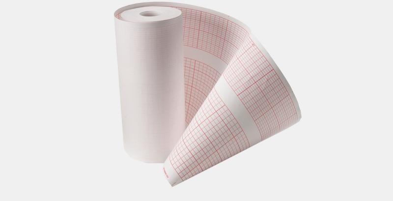 EKG-Papierrolle für Contec 100, 20 Rollen