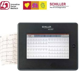 Medische Vakhandel Schiller ECG MS 2007 + accessoires en interpretatiesoftware